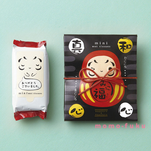 SMALL DARUMA DOLL WET WIPES