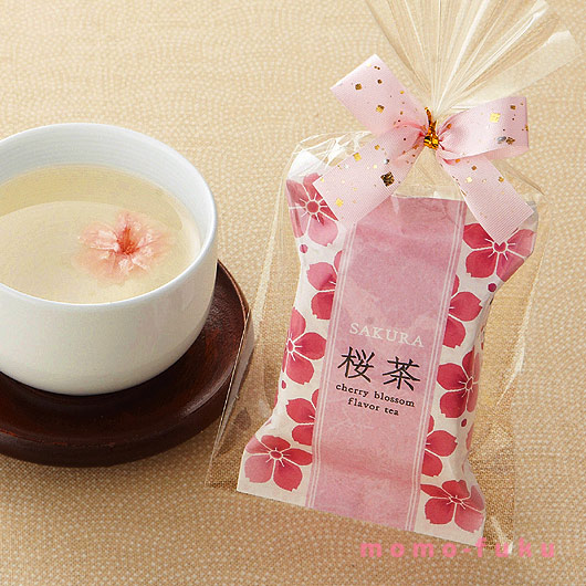 KOBU-CHA, WITH A CHERRY BLOSSOM
