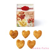 HEART RICE CRACKER - Beautiful Flower Package