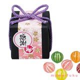 TEMARI BALL CANDIES, BUTTERFLY