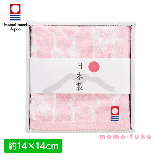 IMABARI SMALL HAND TOWEL OF CHERRY BLOSSOM
