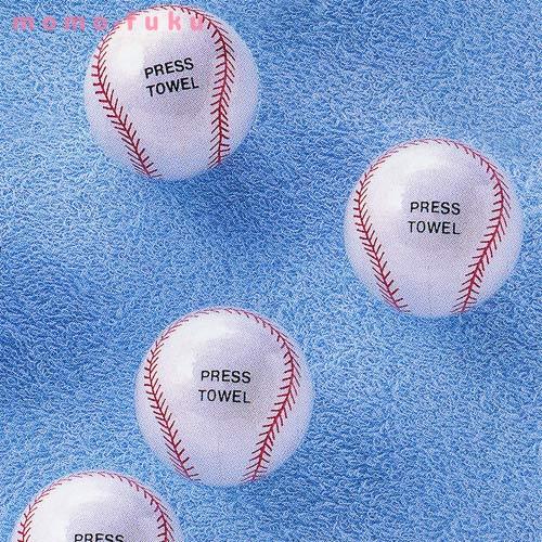 野球ボールタオル